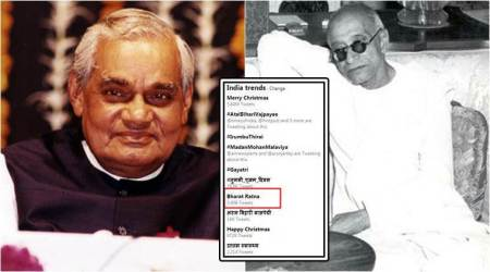 Here's why Bharat Ratna was trending today (there's a Atal Bihari Vajpayee and C Rajagopalachari connection)