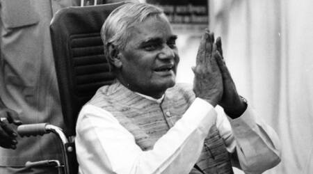 Nitish Kumar greets former PM Atal Bihari Vajpayee on his 93rd birthday