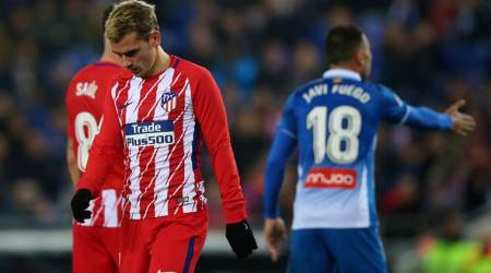 Atletico Madrid's 20-match unbeaten run in La Liga ends against Espanyol