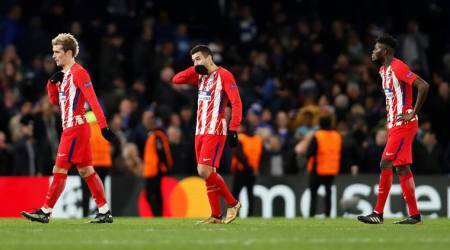 Atletico Madrid handed first defeat of season with 0-2 loss against Celta Vigo