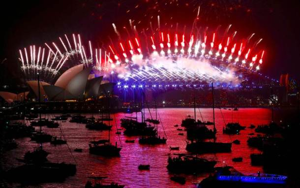 Happy New Year 2018: STUNNING photos of the world welcoming the New Year