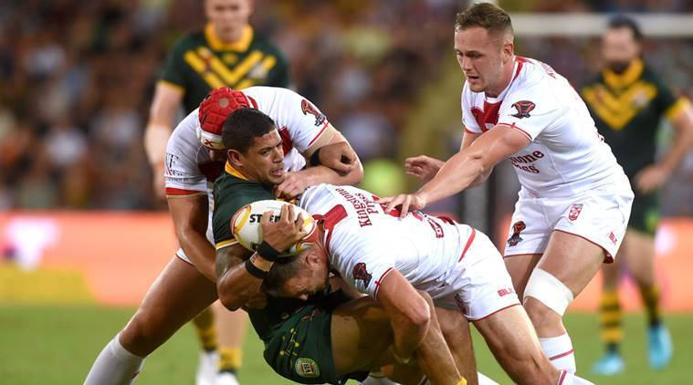 Australia win their 11th rugby league World Cup title with a 6-0 victory over England.