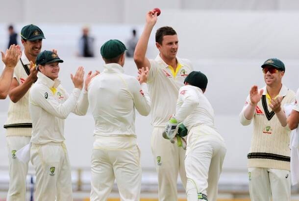 Ashes urn returns to Australia after England humiliation in Perth, see pics