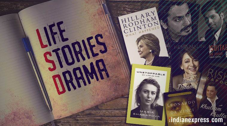 2017's celebrity biographies and autobiographies that became talkingpoints