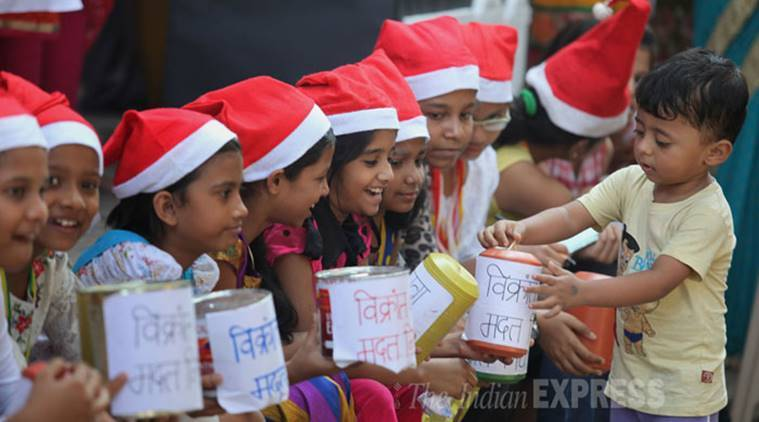 up police uttar pradesh school up school christmas celebration hindu jagran manch - Do They Celebrate Christmas In India