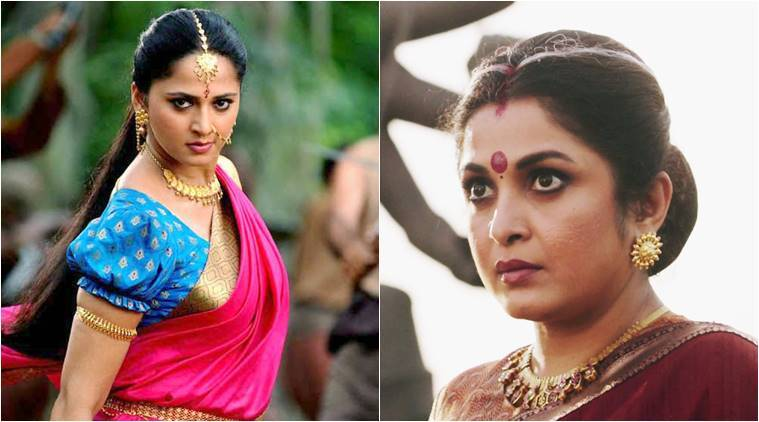 Baahubali 2 actresses Anushka Shetty and Ramya Krishnan.