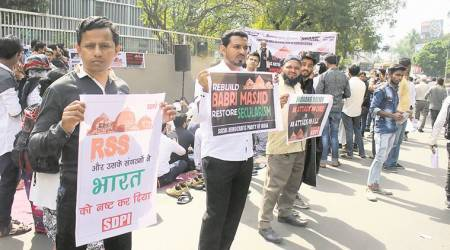 Babri demolition 25 years later: Protests held inPune