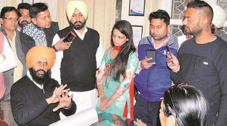 Student not allowed to sit for exam, Bains reaches college, streams it live onFacebook