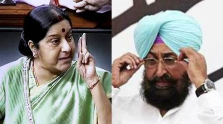 Sushma Swaraj 'blocks' Congress MP for repeatedly asking about missing Indians in Iraq