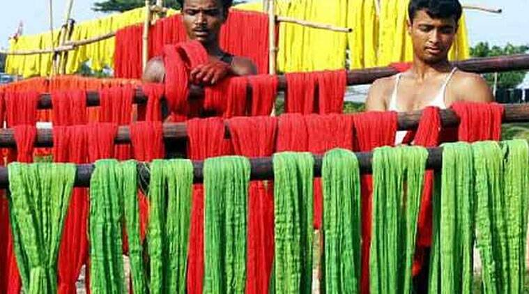 Image result for Mega cluster for Banarasi carpet weavers of Bengal village, Weavers in a remote village in North