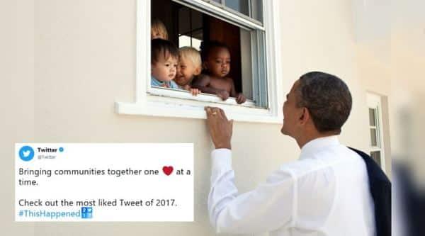 barack obama, donald trump, twitter, 2017 most liked tweet, 2017 most retweeted tweets, 2017 most popular tweets, twitter year in review, 2017 twitter most popular tweet, indian express, social media news, indian express