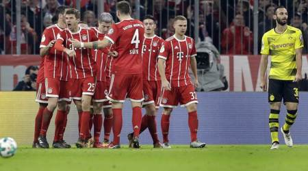 Bayern Munich beat defending champions Borrusia Dortmund 2-1 in German Cup