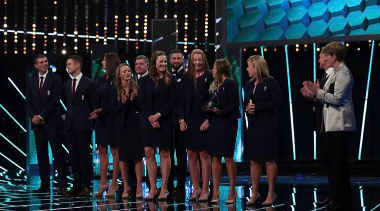 England's women cricket team win BBC Team of the YearAward