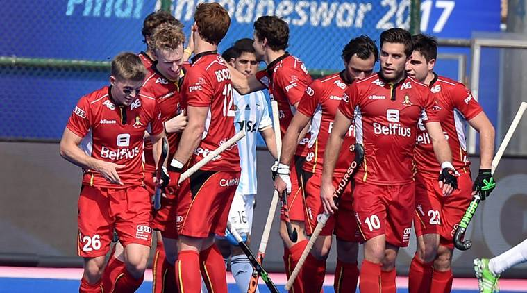 Belgium defeated Argentina while Spain beat Netherlands at HWL Finals 2017.