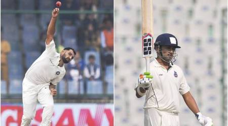 Ranji Trophy 2017, Ranji Trophy 2017 semi-final, Ranji Trophy 2017 Bengal vs Delhi, Delhi Bengal, Wrddhiman Saha, Gautam Gambhir, Manoj Tiwary, sports news, cricket, Indian Express