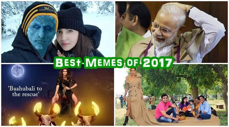 best memes 2017, funniest memes in 2017, hilarious memes 2017, funny memes 2017, kbc memes, virushka memes, narendra modi memes, 2017 memes, indian express, indian express news