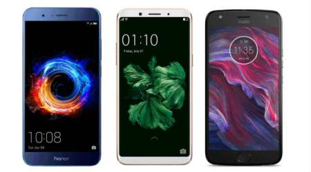 Honor 8 Pro, Oppo F5 to Moto X4: Best mid-range mobiles for 2017 from Rs 15,000 to Rs 30,000