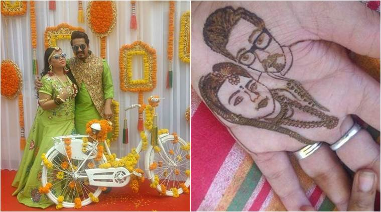 Inside Bharti Singh and Harsh Limbachiyaa's mehendi, see photos
