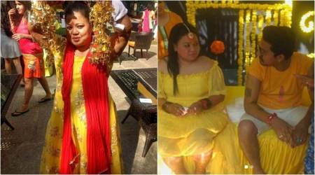Inside pictures of Bharti Singh and Haarsh Limachiyaa's Haldi ceremony