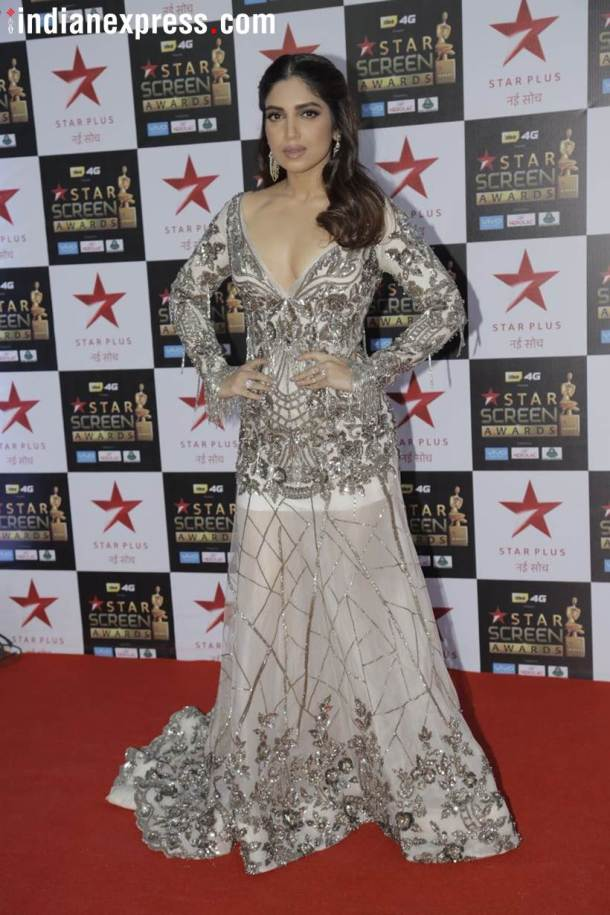 bhumi pednekar at star screen awards