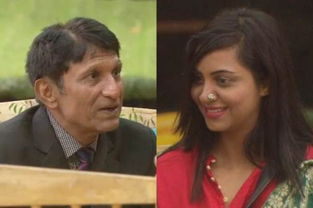 arshi khan father advice her to change hairstyle