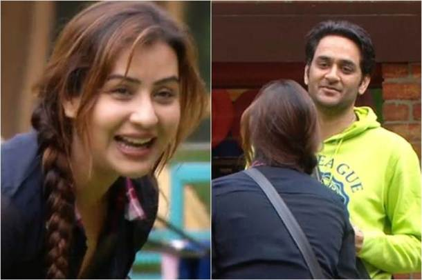 Shilpa shinde and vikas gupta have fun time in bigg boss 11