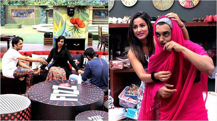 Akash kisses Shilpa Shinde, Hina Khan calls Hiten 'spineless'
