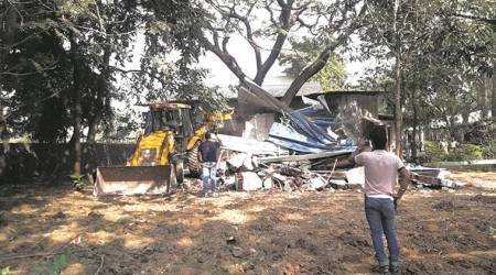 Lonavla: 13 'illegal' toilet blocks on Bigg Boss sets razed