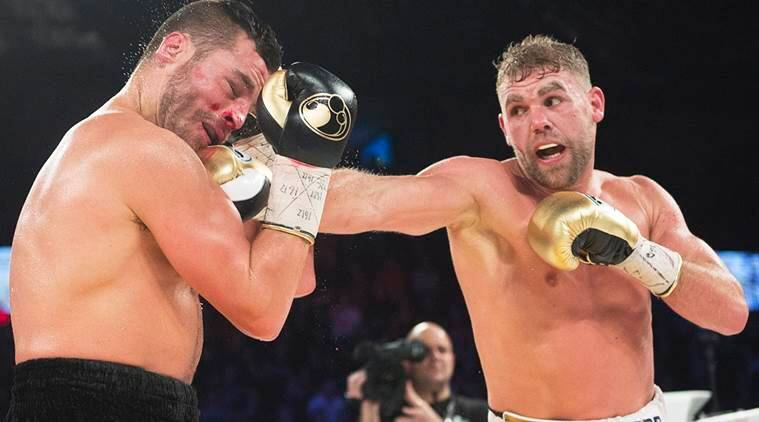 Boxer Billy Joe Saunders apologises for video on hitting women in lockdown