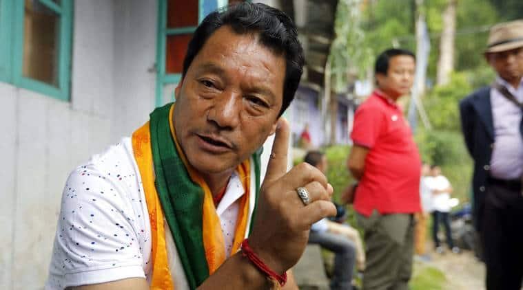 Gorkha Janmukti Morcha (GJM) leader Bimal Gurung