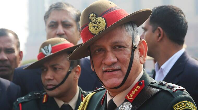 Indian army, Kashmir militants, militancy in Kashmir, Bipin Rawat, terrorist organisation, India terrorism, India news, Indian Express news