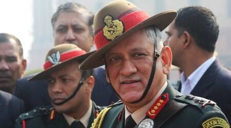 Army chief Gen Bipin Rawat witnesses military exercise near Indo-Pak border