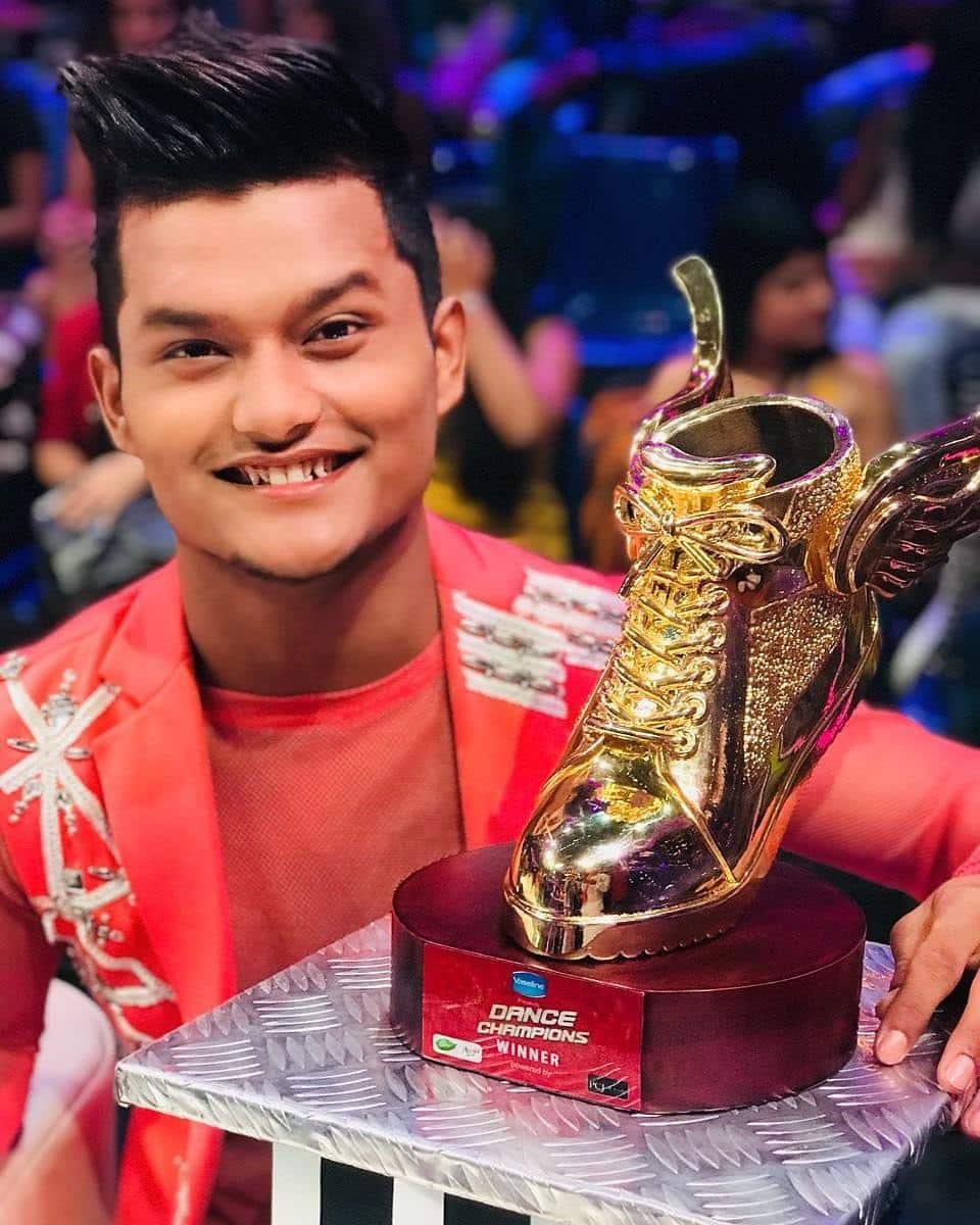 Dance Champions winnerBir Radha Sherpa