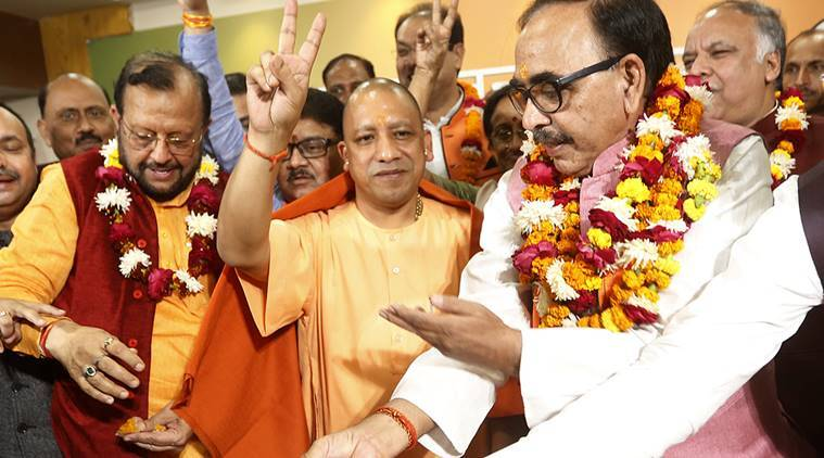 up civic polls, uttar pradesh municipal election, bjp, up election, yogi adityanath, urban local body polls, india news, indian express