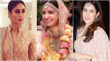 Anushka, Kareena, Sagarika: Take cues from Bollywood celebs on how to nail blush pink this wedding season