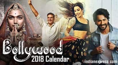 Bollywood 2018 Calendar