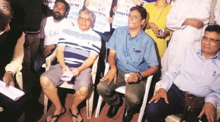 After opposing event and revising stance, Brahmin outfit leader meets Prakash Ambedkar,others