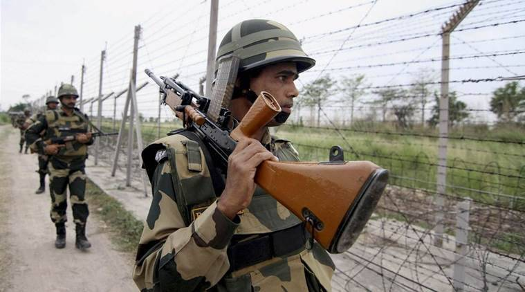 BSF, ceasefire violation, Line of control, Pakistan India flag meeting, Pakistan ceasefire violation, Jammu and kashmir news, indian express