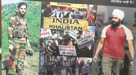 On sale is literature hailing Burhan Wani as a hero offreedom