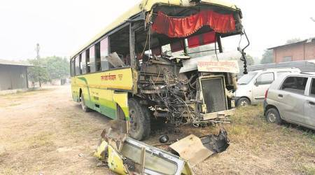 Uttar Pradesh: Private bus carrying labourers turns turtle in Mainpuri, 17 dead