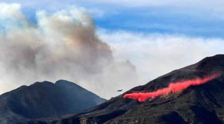 No respite in sight from fast-moving Southern Californiawildfires