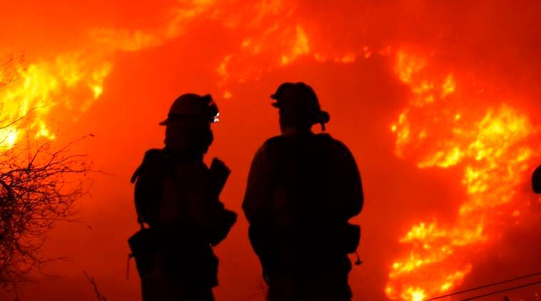 California wildfires now larger than New York City and Boston combined