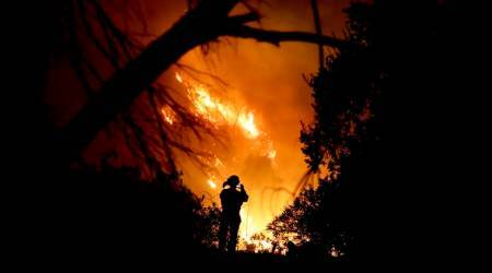 California wildfire now largest in statehistory