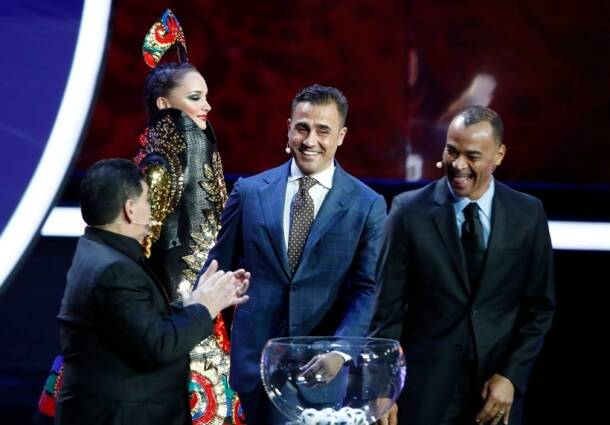 Stars descend in Moscow for FIFA 2018 World Cup Final Draw