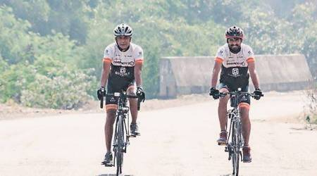 Riding high on nature love, father-son duo to pedal to Cochin in 11days