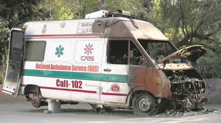 Hardlook: In need of an ambulance