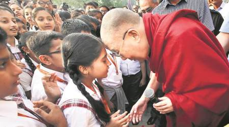 Dalai Lama reminds students of ancient Indian knowledge