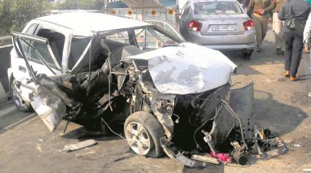 Two of family killed, five injured in Ludhianaaccident