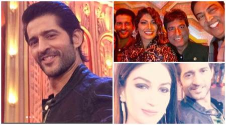 Post Bigg Boss 11, Hiten Tejwani is having fun on the sets of Entertainment Ki Raat