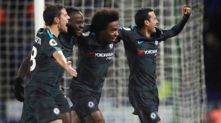 Chelsea cruise to 3-1 victory against Huddersfield Town
